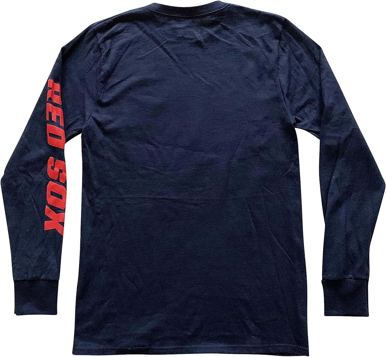 Majestic Boston Red Sox MLB Pennant Worthy American League Champions 2018 Mens T-Shirts Short Sleeve Crew Neck T-Shirt
