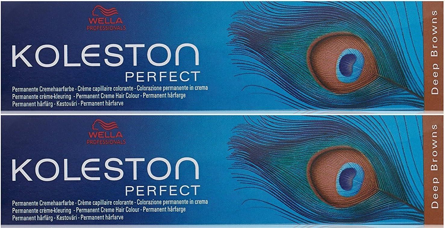 Wella Koleston Perfect - Tinte de coloración, 2 unidades, 60 ...