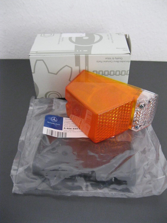 UNIMOG clignotant carr/é complet avec joint en caoutchouc 406/403/421
