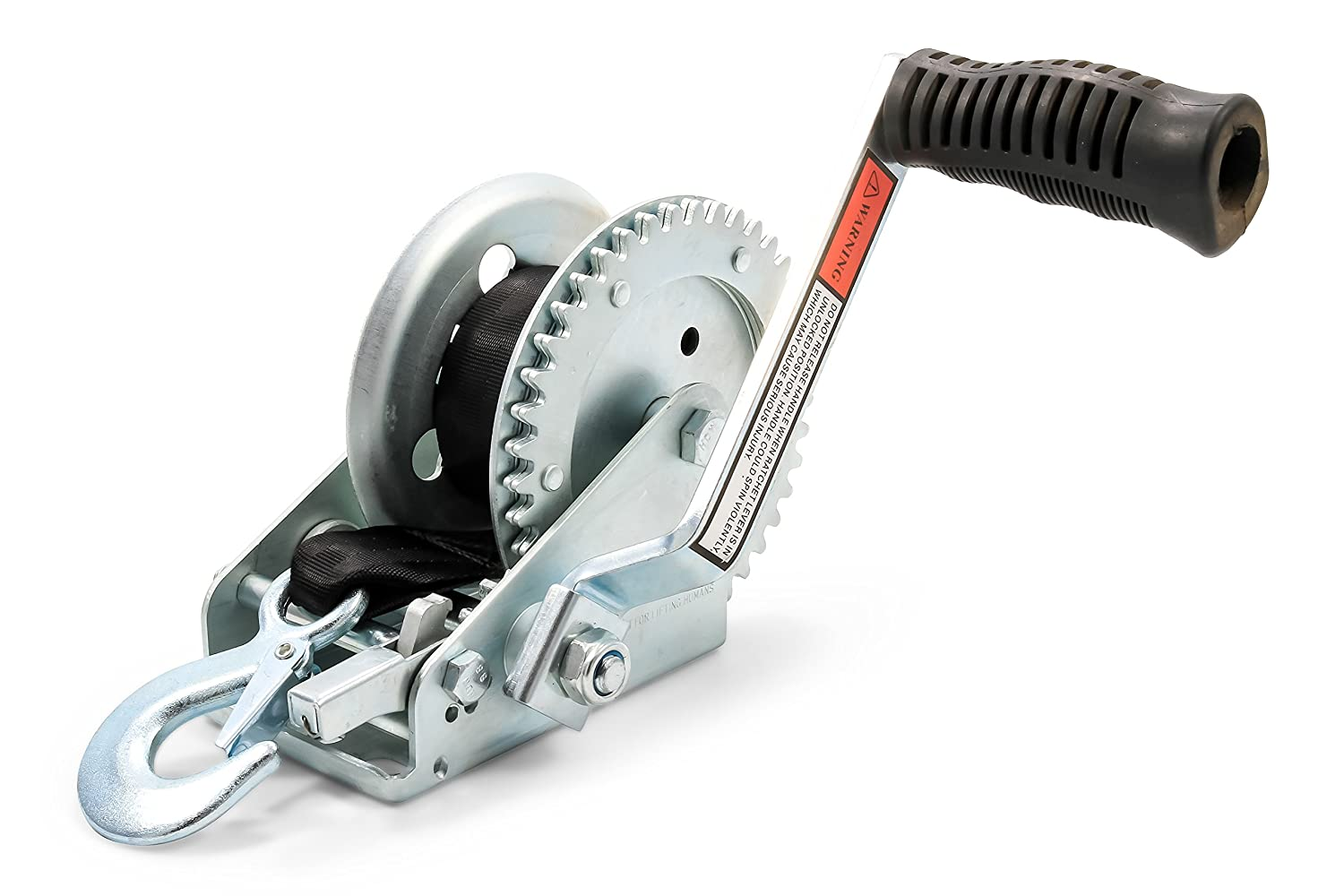 Camco 50001 Winch (1,2000 lb. With 20' Strap)