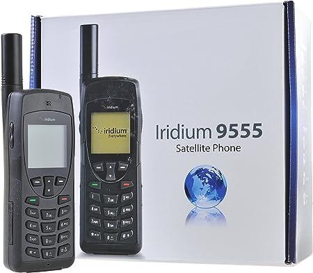 Iridium 9555 Teléfono Satelital con Tarjeta SIM Prepago de 75 Minutos/ 90 Días: Amazon.es: Electrónica