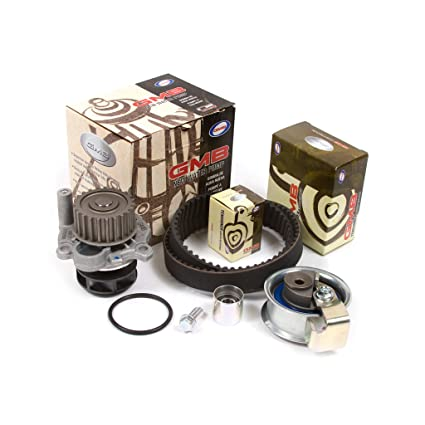 Amazon.com: Fits 01-06 Audi Volkswagen Turbo 1.8 DOHC 20V Timing Belt Kit GMB Water Pump: Automotive