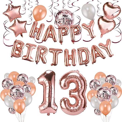 10x Geburtstag Geschenk Latex Helium Luftballons Jubiläum Feier Überraschung