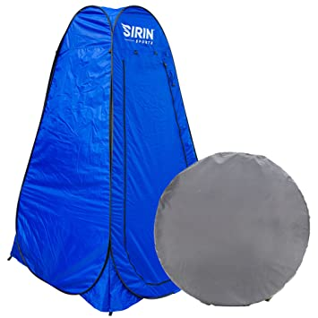 Sirin Sports Portable C&ing Privacy Tent - Outdoor Folding Personal Shelter - Instant Pop up design  sc 1 st  Amazon.com & Amazon.com: Sirin Sports Portable Camping Privacy Tent - Outdoor ...