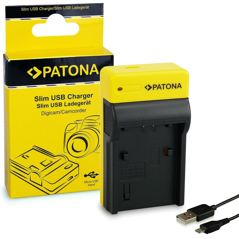 Baterìa+Cargador NP-FP50 FH50 para Sony DCR-DVD106E DVD109E DVD110E DVD108