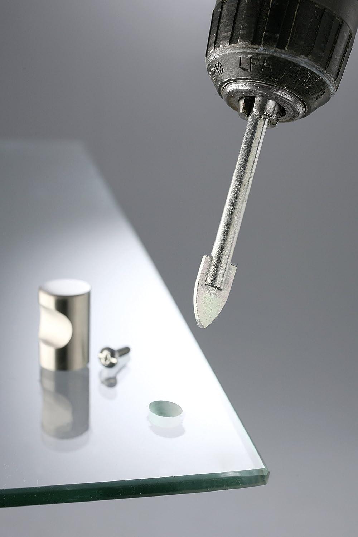 hartmetallbest/ückt, f/ür Glas, Fliesen und Porzellan kwb Glasbohrer /Ø 4,0 mm 177004