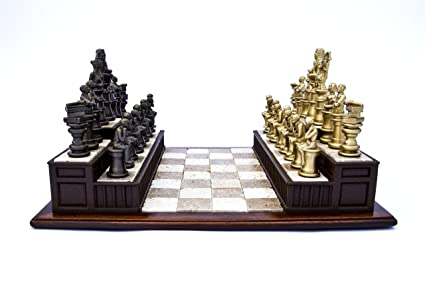 Amazon com: Law Chess Set Gift for Lawyers: Toys & Games