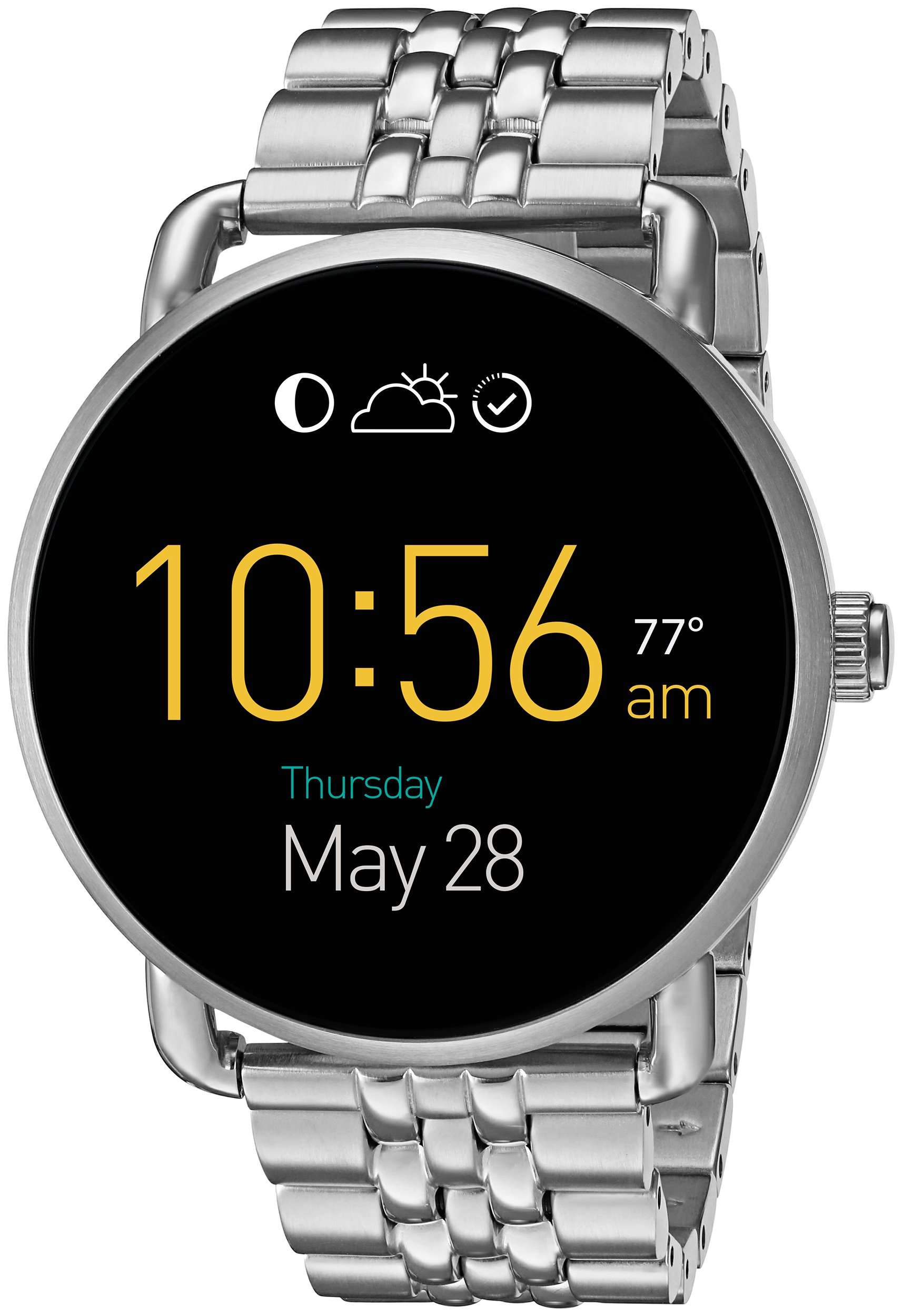 Fossil Q Wander Gen 2 Stainless Steel Touchscreen Smartwatch FTW2111 by Fossil (Image #1)