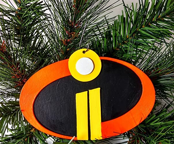 Geek Christmas Ornaments.Amazon Com The Incredibles 2 Ornament Pixar Disney Geek