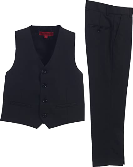 Vest Pants Set Gioberti 3 Piece Big Boys Formal Suit