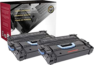 Inksters Remanufactured Toner Cartridge Replacement for HP C8543X MICR (HP 43X) 02-81081-001 - Used with HP Laserjet 9000 9000N 9000DN 9000HNF 9000HNS 9000MFP - 30K Pages (Black) - 2 Pack