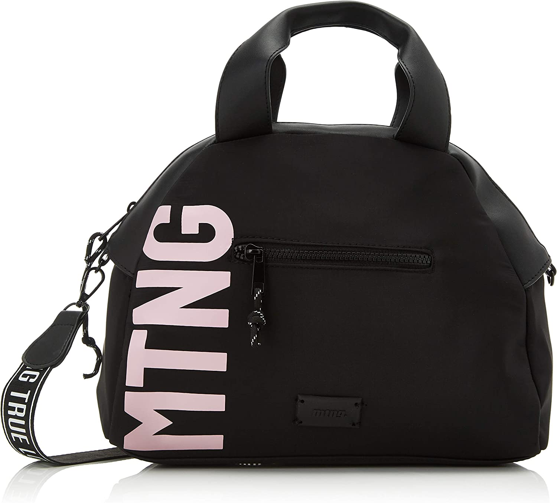 MTNG Squad, Bolso bolera para Mujer, Negro (Nilo/Lis Negro), 15x26x36 cm (W x H x L)