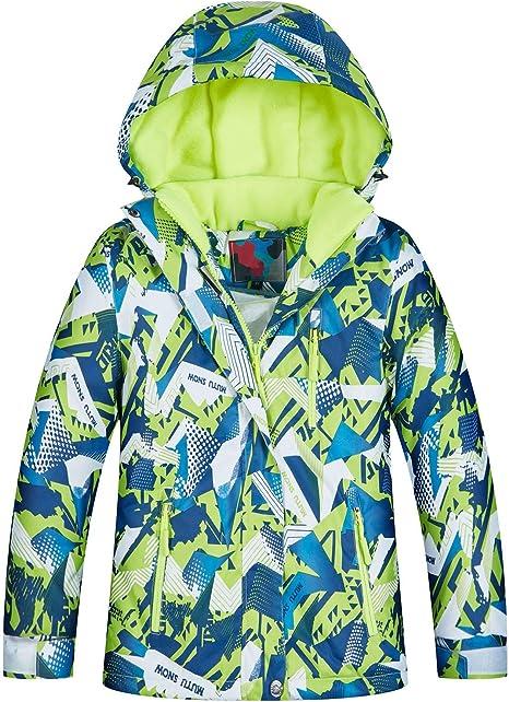 Snowboardjacke Mädchen Kinder Skijacke Winterjacke Schneejacke Snowboard Jacke
