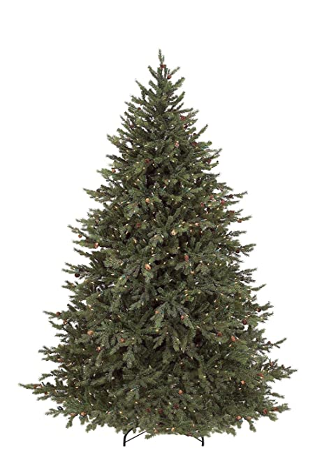 bethlehem lighting gki pre lit down swept hunter fir full artificial christmas tree with