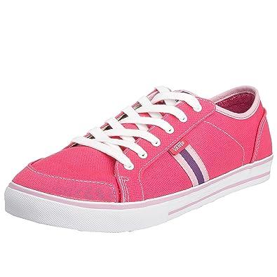 f8e7788404 Vans Women s Wellesley Low pink white VJX1Y3K 8.5 UK  Amazon.co.uk ...