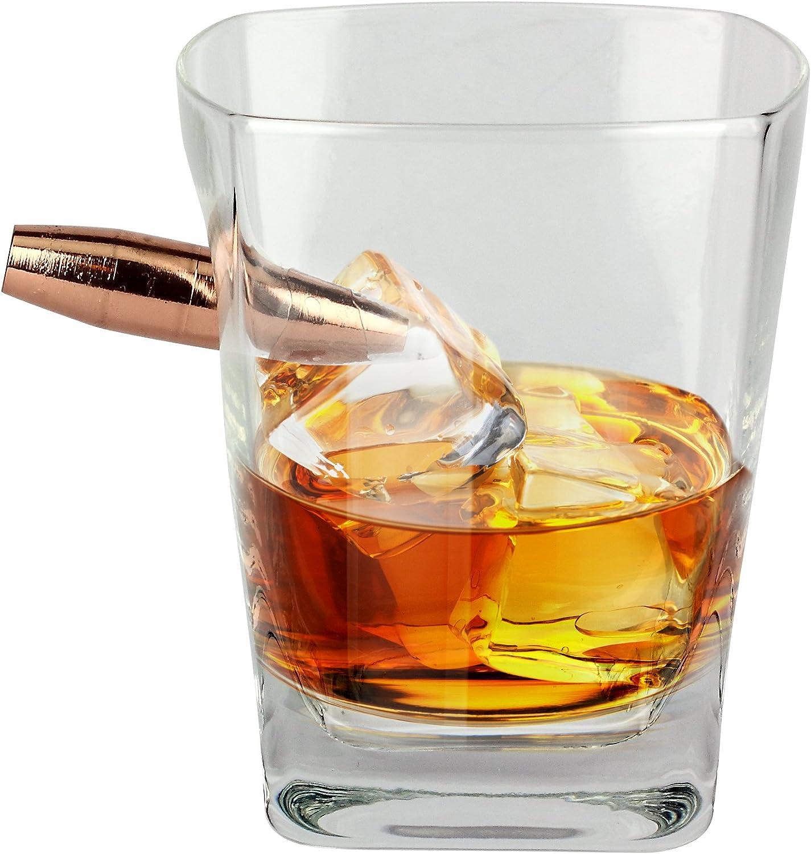 Barbuzzo Last Man Standing - Vaso de whisky bala