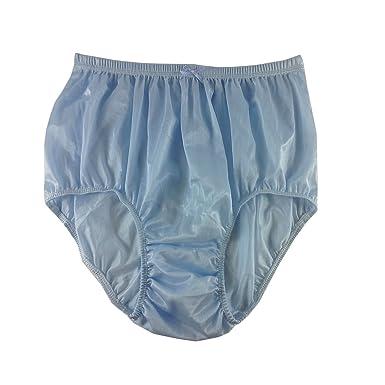 2e196803510cf1 Blue Briefs Seriousy Nylon Plain New Knickers Panties Underwear Lingerie  Men Women: Amazon.co.uk: Clothing