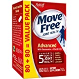 Move Free Advanced, 160 tablets - Joint Health Supplement with Glucosamine and Chondroitin
