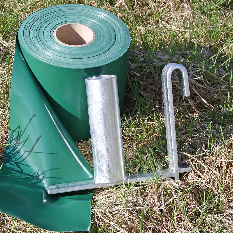 Abrollhilfe f/ür PVC Sichtschutzstreifen auf der Rolle Profi-Abroller