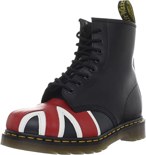 Dr. Martens Union Jack 8 Eye Boot, Boots mixte adulte