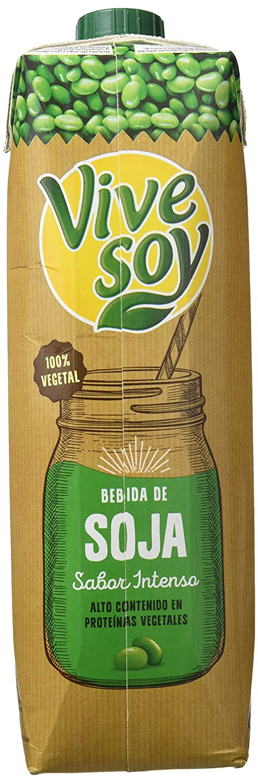 Vivesoy - Bebida de Soja sabor Intenso - 1 L: Amazon.es: Alimentación y bebidas