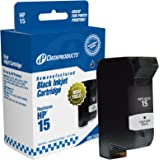 Dataproducts DPC15DN Remanufactured Ink Cartridge Replacement for HP #15 (C6615DN) (Black)