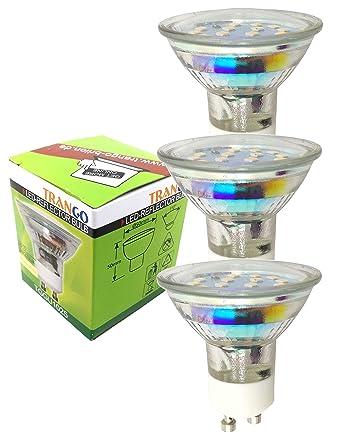 Bombilla LED SMD de 3,0 vatios, blanco cálido, 3000 Kelvin, de