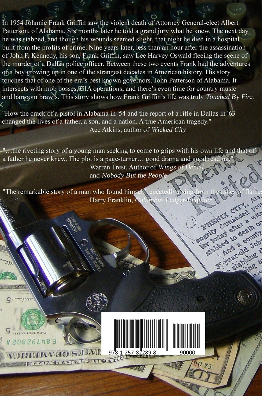 Touched By Fire-Second Edition  Frank Griffin  9781257822898  Amazon.com   Books 5697a0ac5