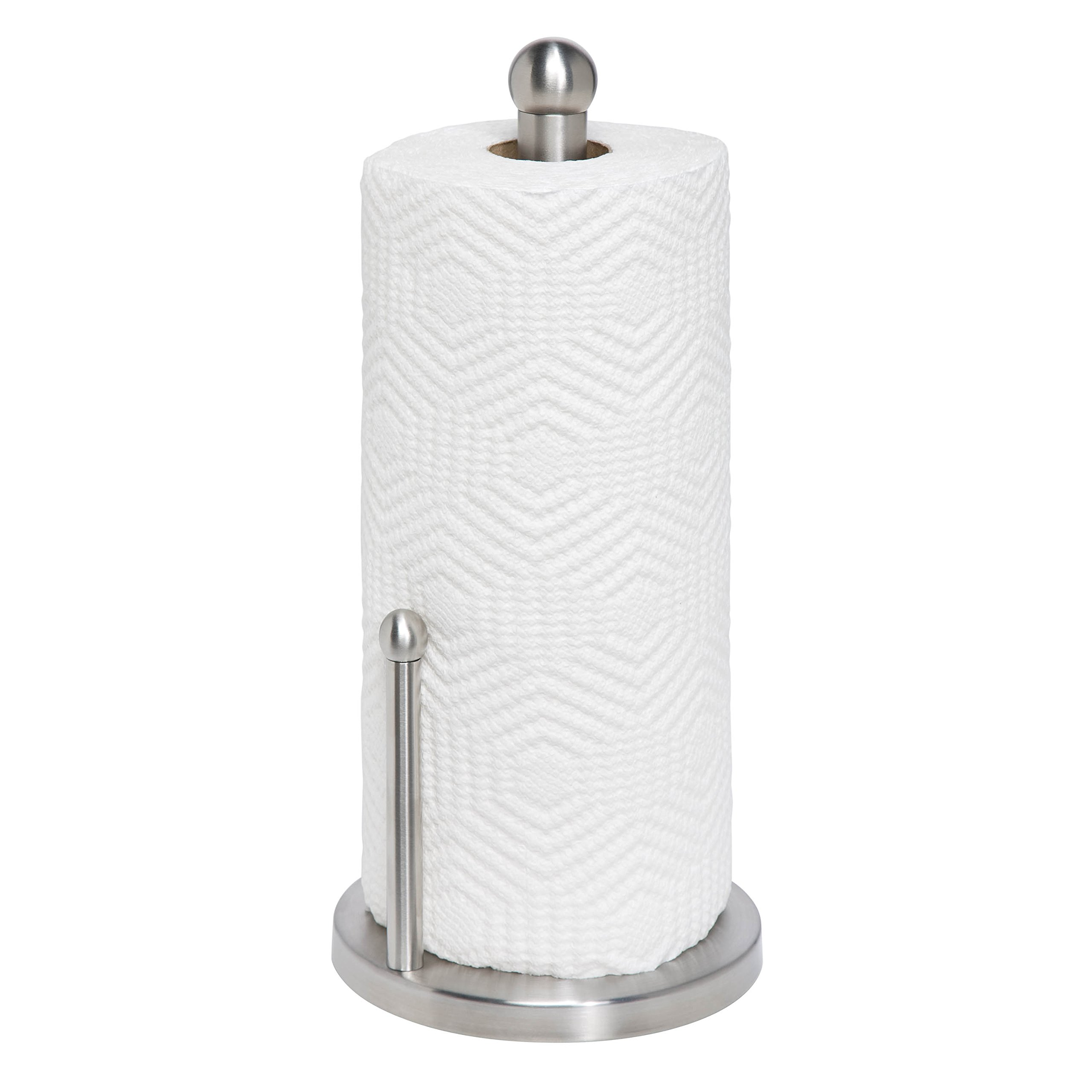 Honey-Can-Do KCH-01077 Stainless Steel Paper Towel Holder