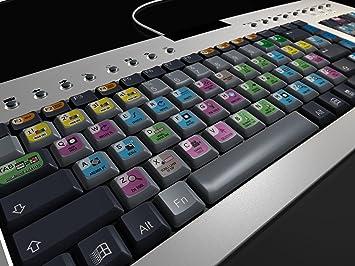 Adobe después de efectos de teclado y juego de pegatinas de