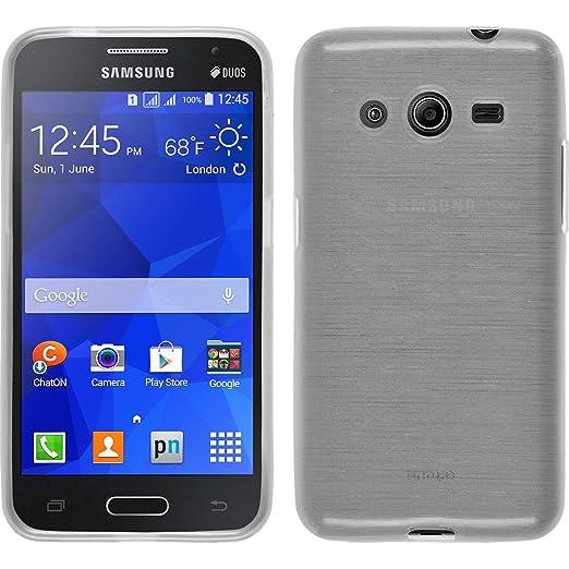 33 opinioni per PhoneNatic Custodia Samsung Galaxy Core 2 Cover bianco brushed Galaxy Core 2 in