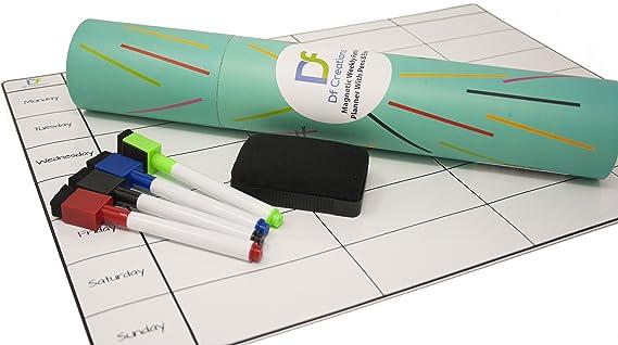Kühlschrank Planer : Df creations magnetischer mahlzeitplaner kühlschrank whiteboard