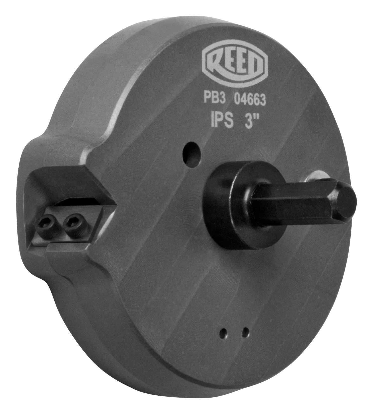 Reed Tool PB3 Drill-Powered Beveller for 3-Inch Plastic Pipe