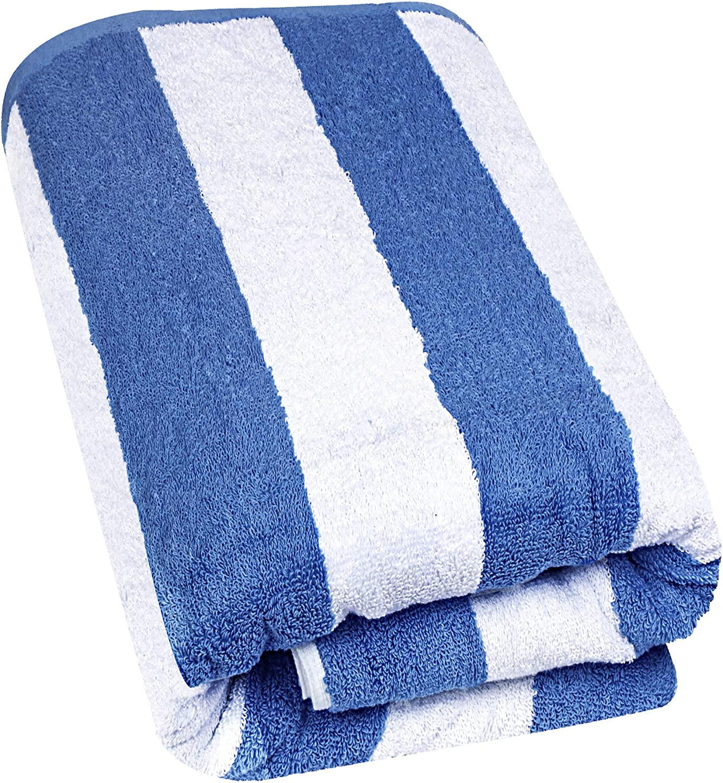 Azul, 2 600 gsm de Alta absorci/ón Toalla de Playa de Primera algod/ón Hilado en Anillo S/ábana de ba/ño Jumbo Utopia Towels Paquete de 2 Toalla s/úper Suave y de Secado r/ápido