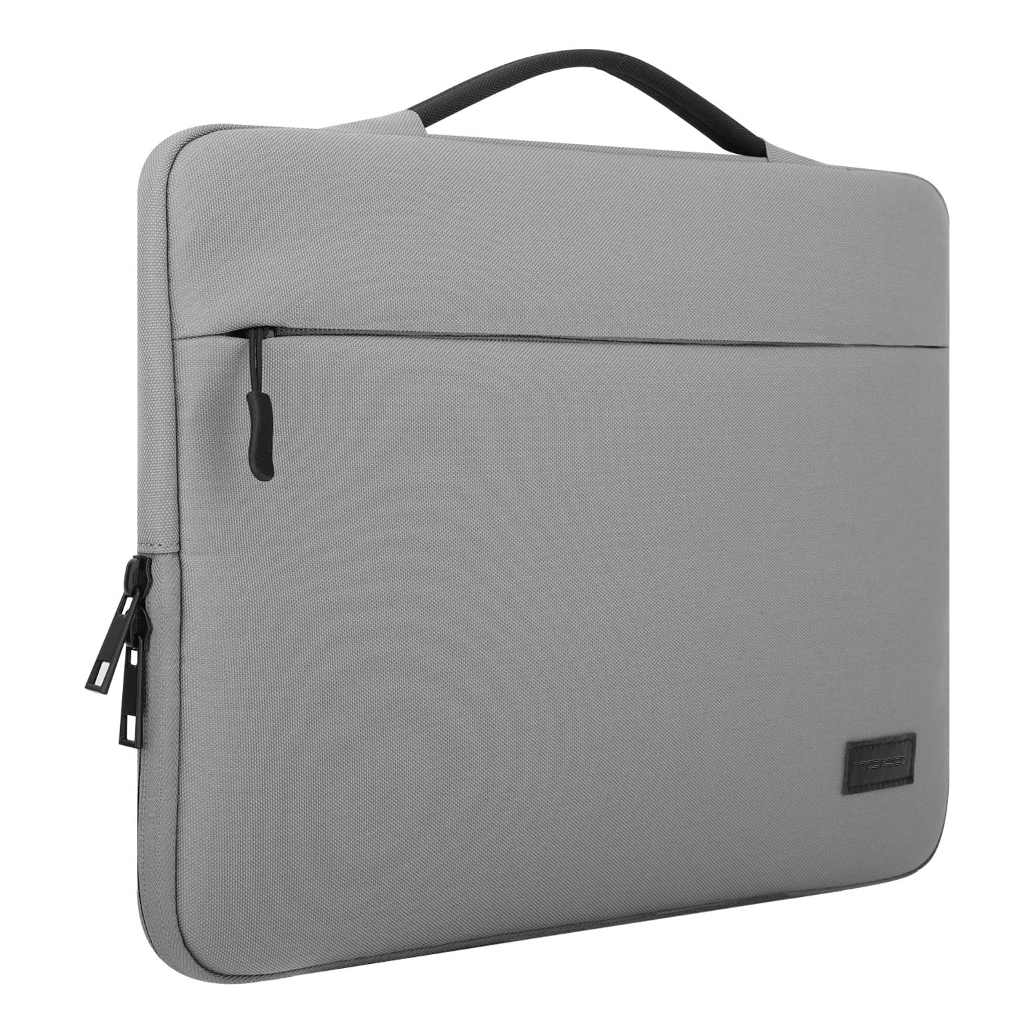 MoKo 13-13.5 Inch Laptop Sleeve Bag, Oxford Cloth Carry Case Cover Compatible with 13.3 MacBook Pro (2018 & 2017 & 2016) / MacBook Air, Surface Book 13.5, Protective Handbag for 13 Notebook, Gray Surface Book 13.5