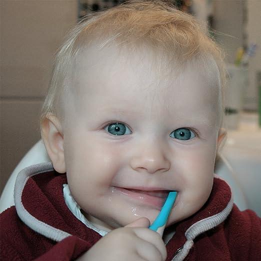 Amazon.com: Bebé cepillo para polvo de dientes, tinabless ...