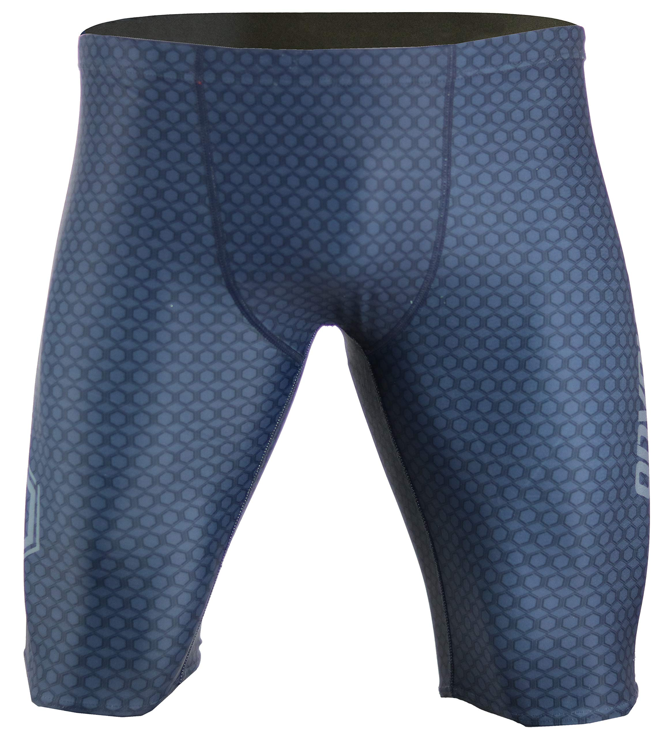 Onvous Mens V2 Compression Racing Swimsuit & Cross-Training Jammer/Shorts(32) Grey by Onvous