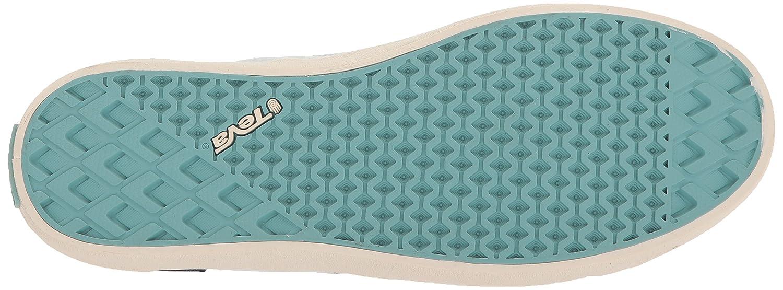 Teva Womens Women's W Freewheel Slubby Canvas Sneaker B072K5BDJ6 9.5 B(M) US|Light Blue/Multi