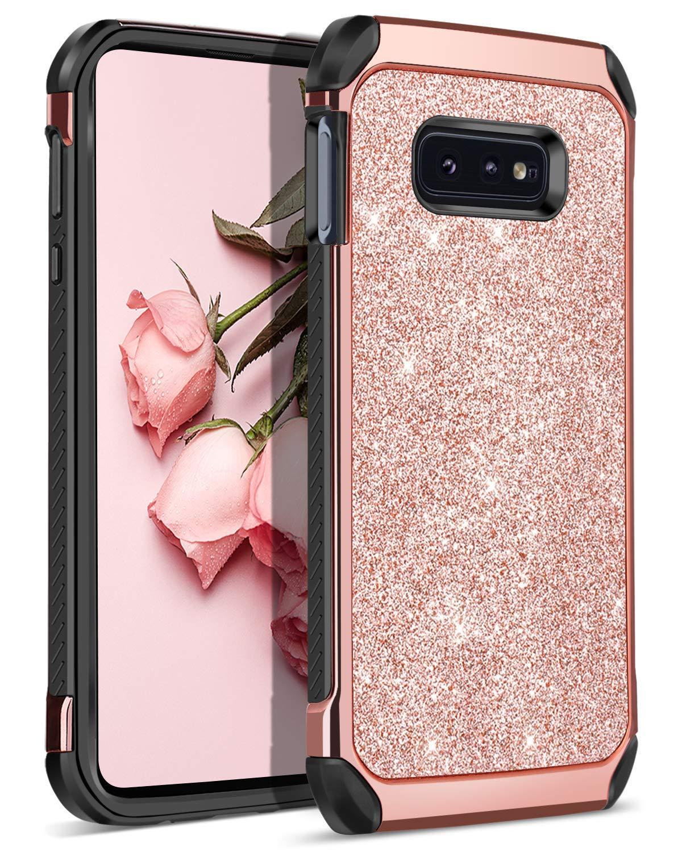 Funda Para Samsung Galaxy S10e Glitter Rosa (xsr)