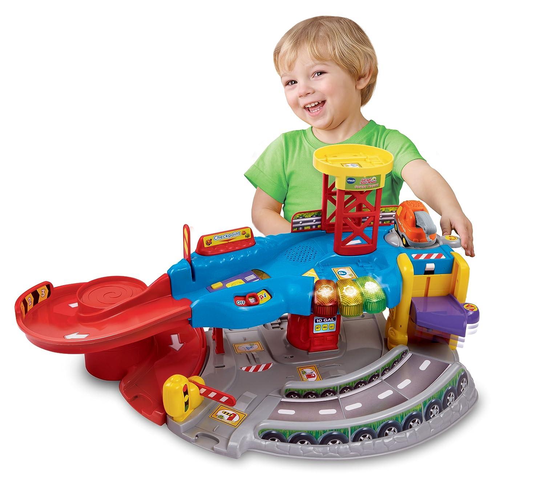 Amazon Com Vtech Go Go Smart Wheels Garage Toys Games