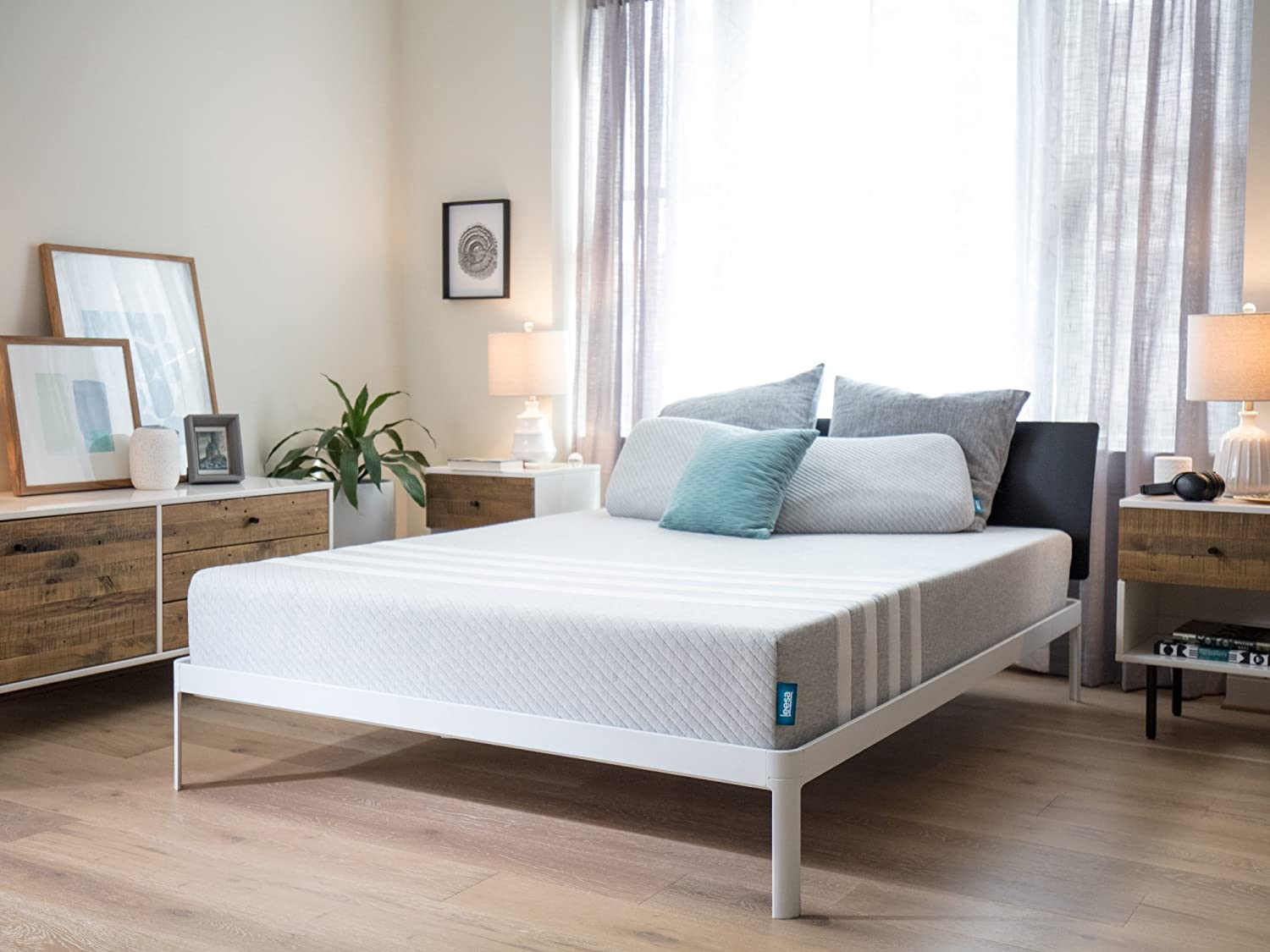 Leesa Mattress, Full, 10inch Cooling Avena and Contouring Memory Foam Mattress