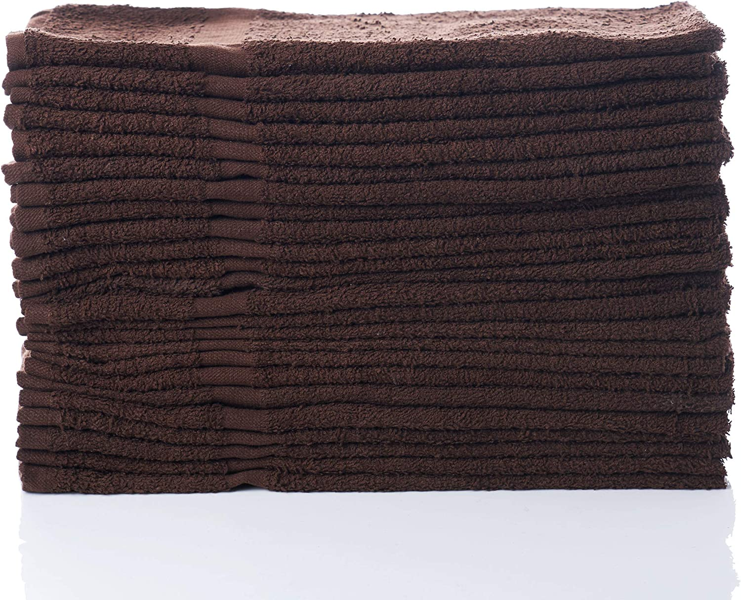 "Simpli-Magic 79223 Brown Hand Towels, Size: 16"" x 27 12 Count"