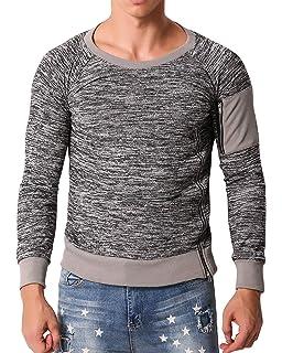 4dbff3bc MODCHOK Men's T-Shirts Long Sleeve Tee Crewneck Sweatshirt Conton  Lightweight Top