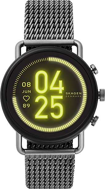 Skagen Smartwatch HR Falster 3 con Pantalla táctil ycorrea de ...