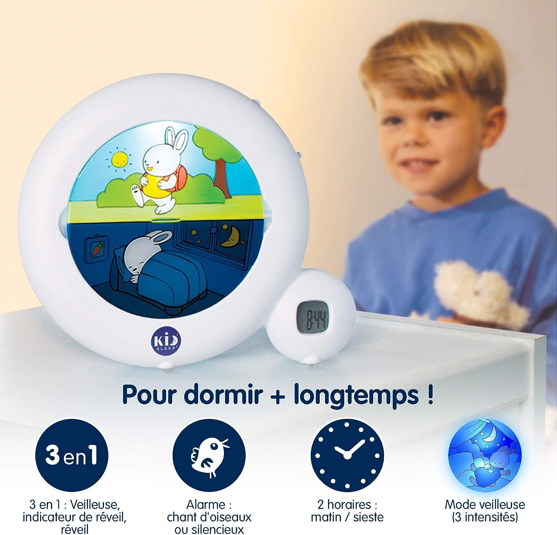 Réveil Enfant Educatif Jour/Nuit Lumineux