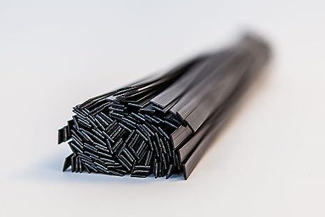 PP - varillas de soldadura de plástico forma plana mezcla (6 mm, 8 mm