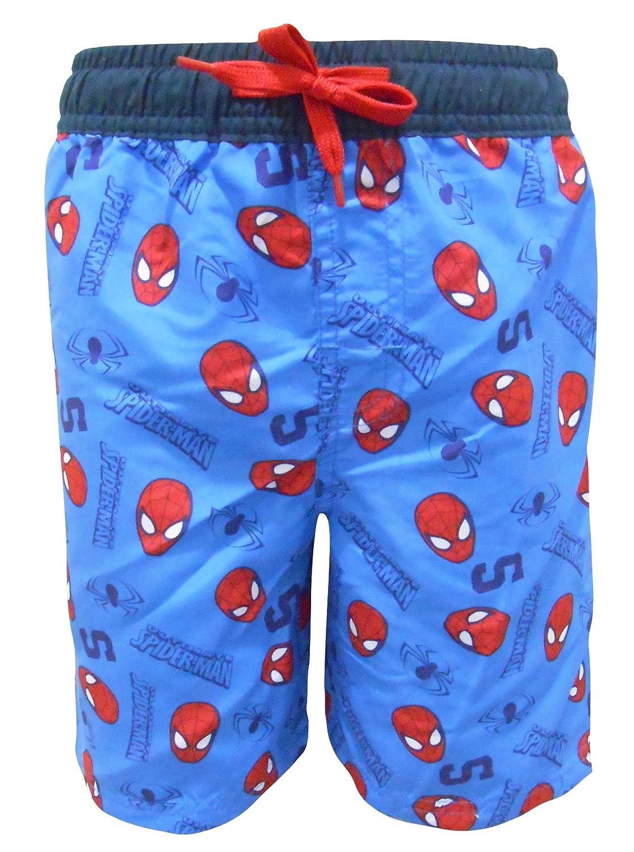 Marvel Spiderman Boys Swimming Shorts