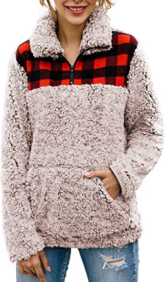 Womens Asymmetric Hoodie Zip Pockets Animal Print Cardigan Coat Sweatshirt 1998