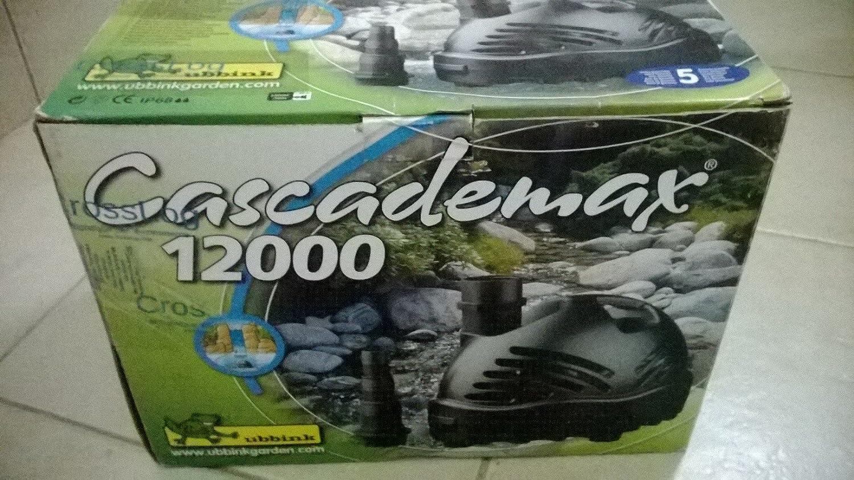 UBBINK Cascademax 12000 TEICHPUMPE WASSERFALLPUMPE NEU!