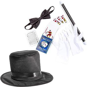 Juvale Kit de Accesorios para Disfraz de Mago para niños: Incluye ...